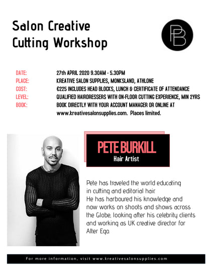 Salon Creative Cutting Workshop with Pete Burkill