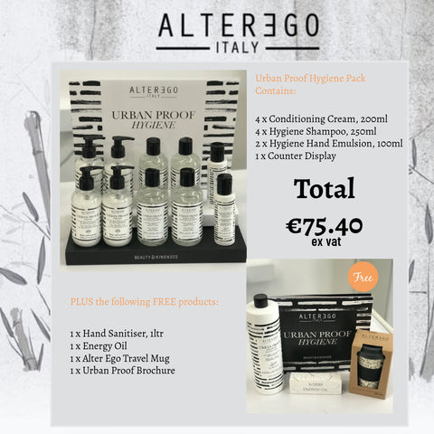Urban Proof Hygiene Pack + 4 Free Products Worth €30!
