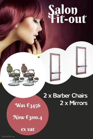 Barber Fitout - 10% OFF - Special Offer **Finance Options Available**