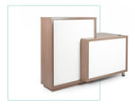 Madagascar Reception Desk - White