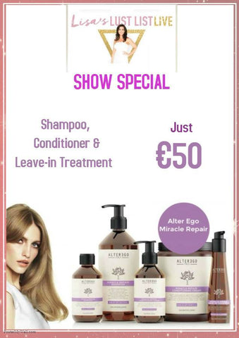 Miracle Repair - Shampoo, Conditioner & Treatment for Dry, Damaged Hair