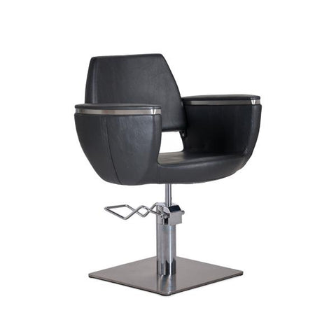 Styling Chair with square base - Quin