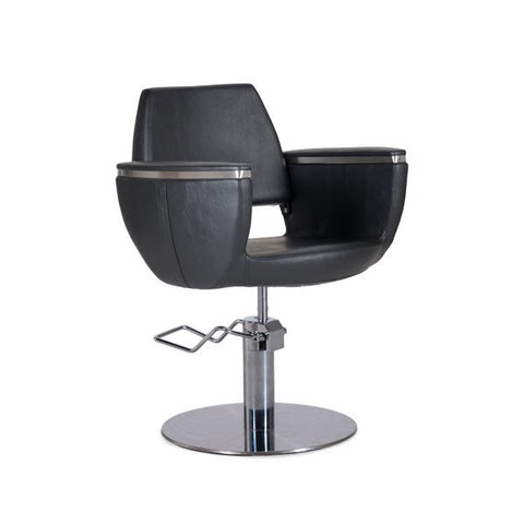 Styling Chair with round base - Quin