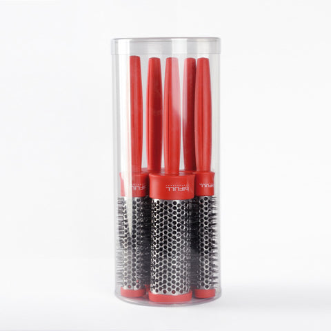Red Thermal Brushes 5Pk
