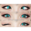 Sweety Anime Turquoise-Colored Contacts-UNIQSO