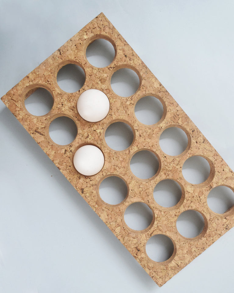 Load image into Gallery viewer, Cork Egg tray
