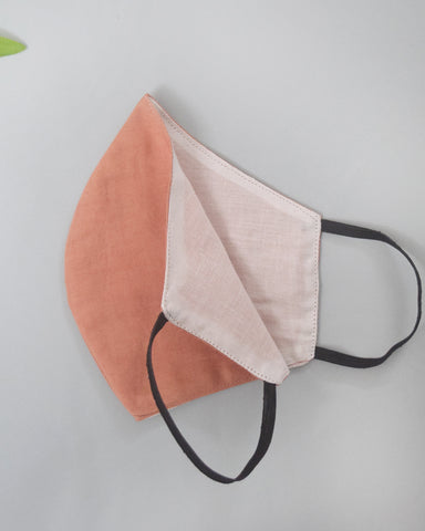 Set of 4 Cotton Masks with elasticated Ear loops
