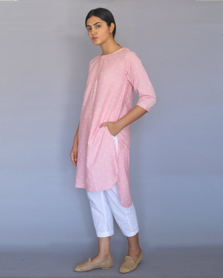 Load image into Gallery viewer, Pink Polka Tunic