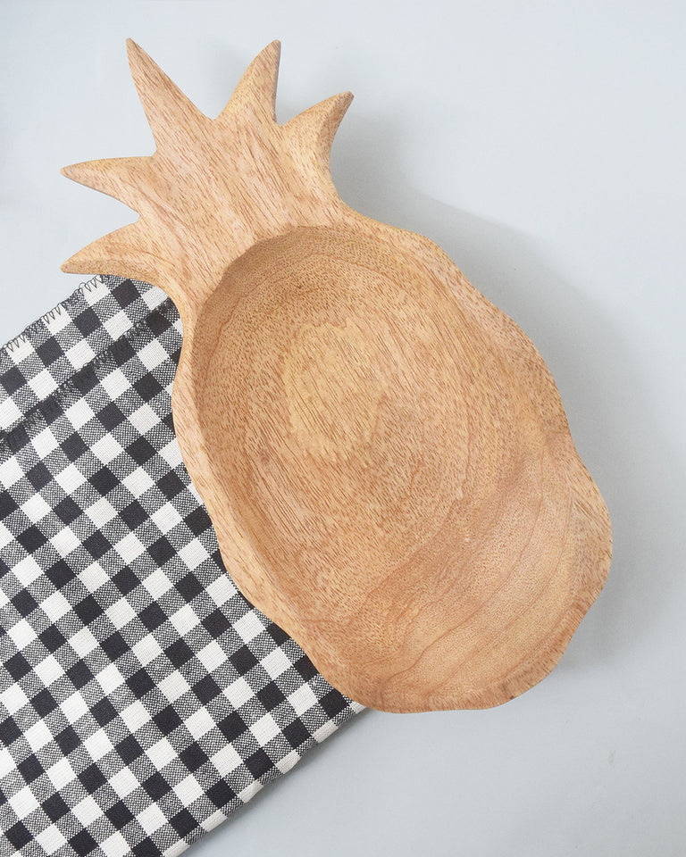 Load image into Gallery viewer, Pineapple Multipurpose Wooden Tray