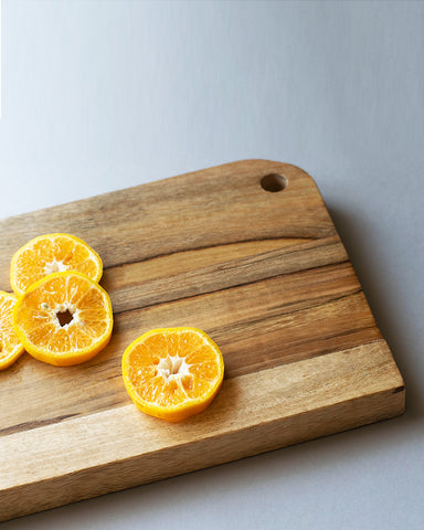 One side curved Edge Chopping/Serving Board