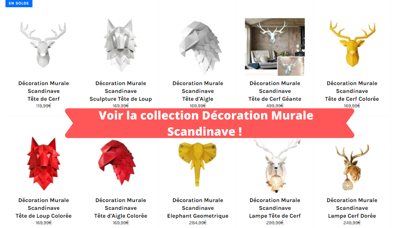 Decoration Murale Scandinave - RomaricDesign