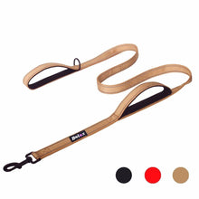 Load image into Gallery viewer, 1.5M dual handle dog leash : Ideal to train puppy to walk on a leash 🐶🦮🐕‍🦺🐩 - PupiPlace