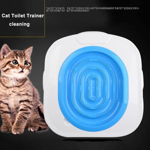 Plastic Cat Toilet Training Kit : Train your cat using toilet 🚾🚾🚾🐈🐈🐈 - PupiPlace