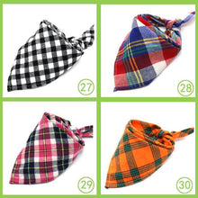 Load image into Gallery viewer, Reversible Trianguar Checked Scarfs for a beauty dog 🐶🧣🐾 - PupiPlace