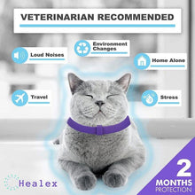Cargar imagen en el visor de la galería, Calming Collar For Cats : helps reduce anxious cat symptoms 🙀😾😽🐈😌 - PupiPlace