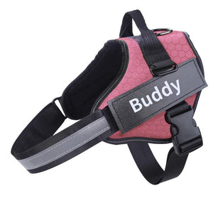 Custom-ID Dog Harness for small, medium and big dog breeds 🐕🐕‍🦺🦮 - PupiPlace