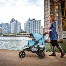 将图片加载到图库查看器,Three Wheels Pet Stroller for an injured dog or cat 🐶🐱🚑🥰 - PupiPlace