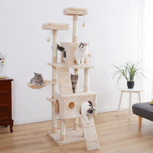 Multi-Levels kitten/cat trees 😻🐾🐈‍⬛🐈🌲 - PupiPlace