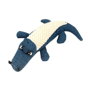 Squeaky sound crocodile puppy toy 🤩🐊🐾🐶 - PupiPlace