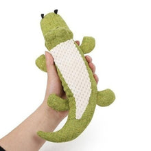 Load image into Gallery viewer, Squeaky sound crocodile puppy toy 🤩🐊🐾🐶 - PupiPlace