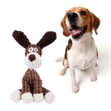 Carica l'immagine nel visualizzatore di Gallery, Plush sound puppy toys in animals' shape 🐹🐰🐻🐒🦆🐓🦩🦓🦌🐐🦒🐾🐶 - PupiPlace