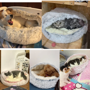 Fluffy calming puppy/cat bed 😻🛌🐾🐶🐈 - PupiPlace