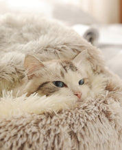 将图片加载到图库查看器,Fluffy calming puppy/cat bed 😻🛌🐾🐶🐈 - PupiPlace