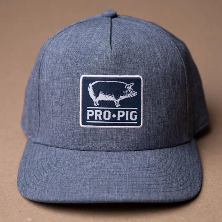 Pro.Pig Navy Patch Wicking Light Denim