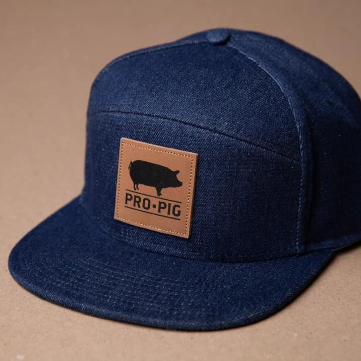 Pro.Pig Denim 5 Panel Square Leather Patch