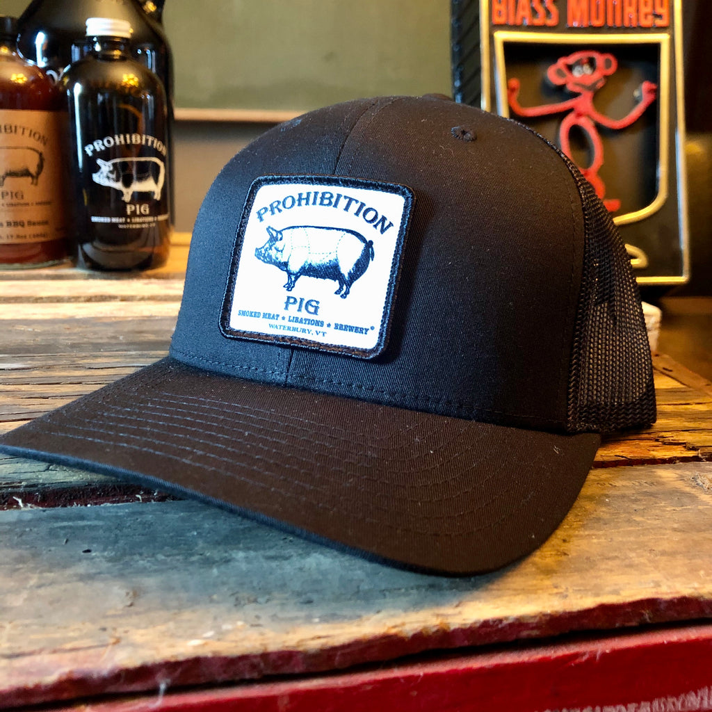 Pro.Pig Black Patch Mesh Snapback