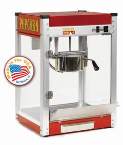 Paragon 1106110 Theater Pop 6 - tp 6 oz Popcorn Machine - Red