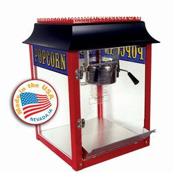 Paragon 1911 Antique Red 8 oz. Popcorn Popper Machine
