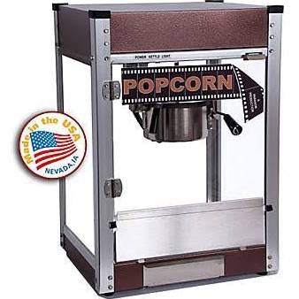 Paragon 1104810 Cineplex 4 oz Popcorn Machine Copper
