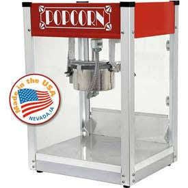 Paragon Gatsby 1104530 4 oz Popcorn Machine (Red)