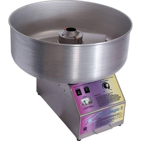 Paragon 7105200 Spin Magic Cotton Candy Machine W/Metal Bowl