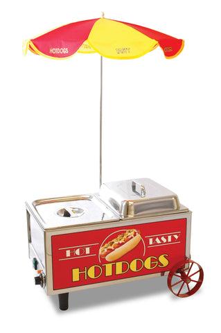 Benchmark 60072 Hot Dog Mini Cart Steamer