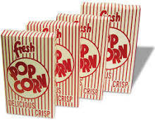 Benchmark USA 41569 1.80 oz Closed Top Popcorn Boxes 50/cs