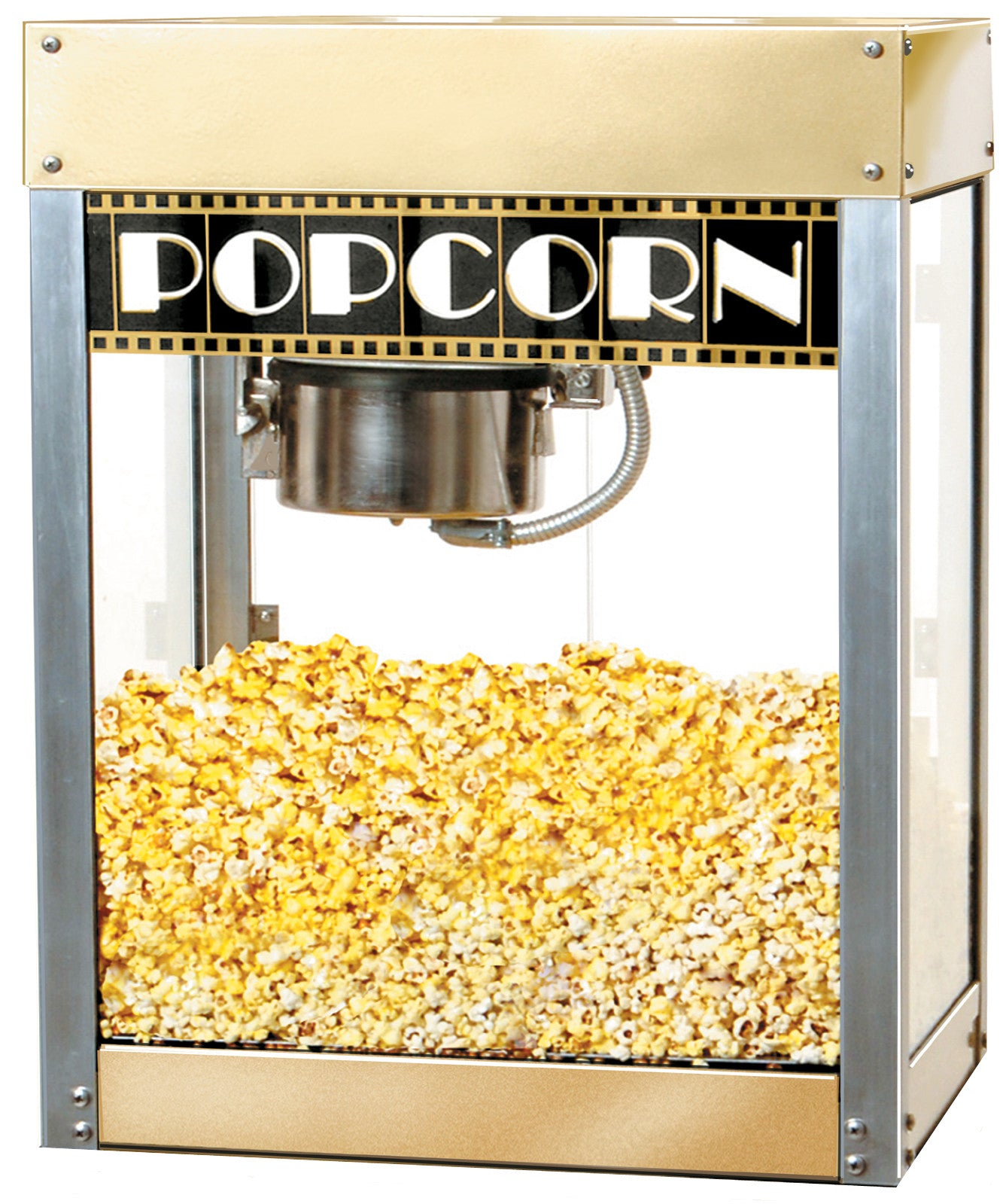 Benchmark 11048 4 Oz Hollywood Theater Premiere Popcorn Machine Popcorn 2 Go
