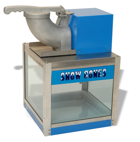 Benchmark USA 71000 Blue Commercial Snowbank Snowcone Machine