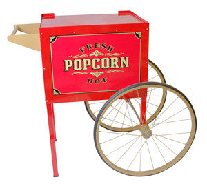Benchmark USA 30010 Antique Trolley Street Vendor Popcorn Cart