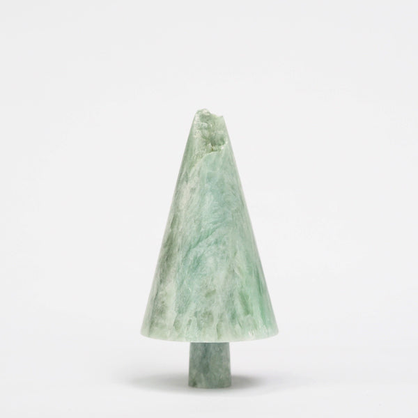 Green Soapstone Tree
