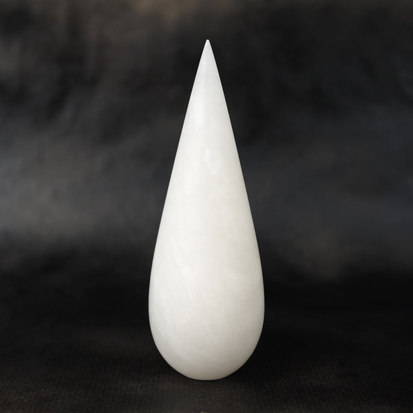 White Alabaster Drop