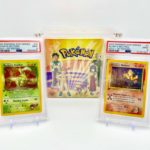 1st Edition Gym Heroes Box Break