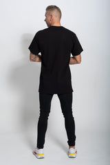 Black T shirt oversized