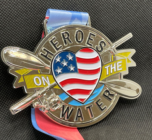 2020 Heroes On The Water 5K Medal