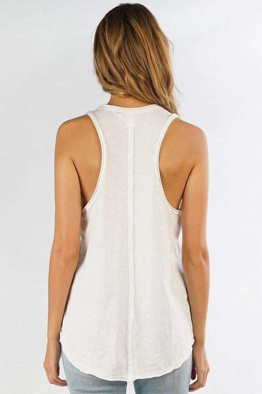 Cotton Slub Tank - Traveling Chic Boutique, VA