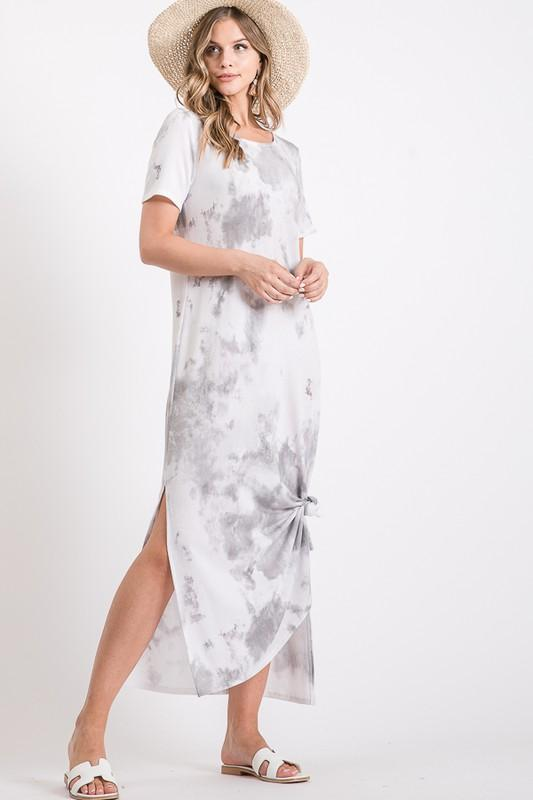French Terry Tie-Dye Maxi - Traveling Chic Boutique, VA