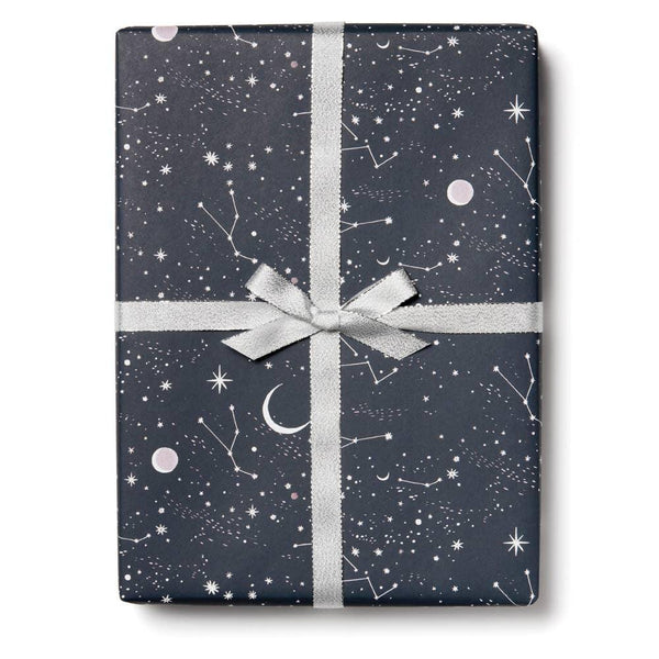 Moon & Stars Wrapping Paper