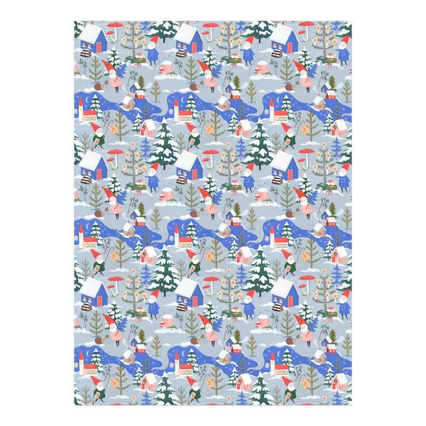 Holiday Gnomes Wrapping Paper