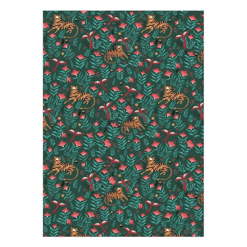 Tiger Wrapping Paper - Traveling Chic Boutique, VA